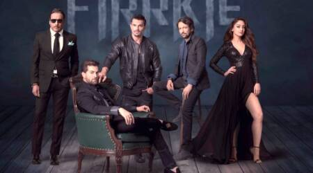 Firrkie first look poster: Neil Nitin Mukesh, Jackie Shroff, Kay Kay Menon and Karan Singh Grover are ready with some thrill. Seephoto