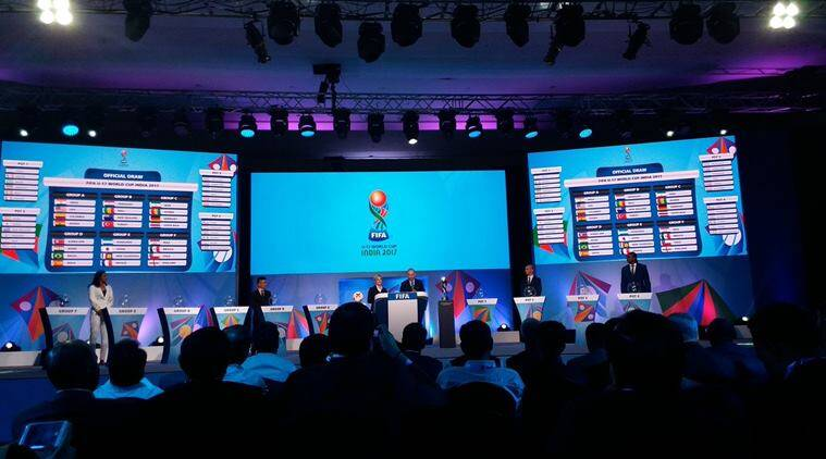 fifa u-17 world cup, u-17 football world cup draw, india football world cup, football news, indian express