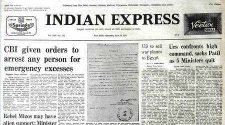Forty Years Ago, June 28, 1977: Karnataka Crisis