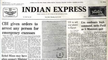 Forty Years Ago, June 28, 1977: KarnatakaCrisis