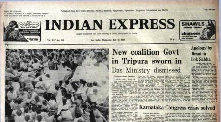 Forty Years Ago, July 27, 1977: Morarji's Apology