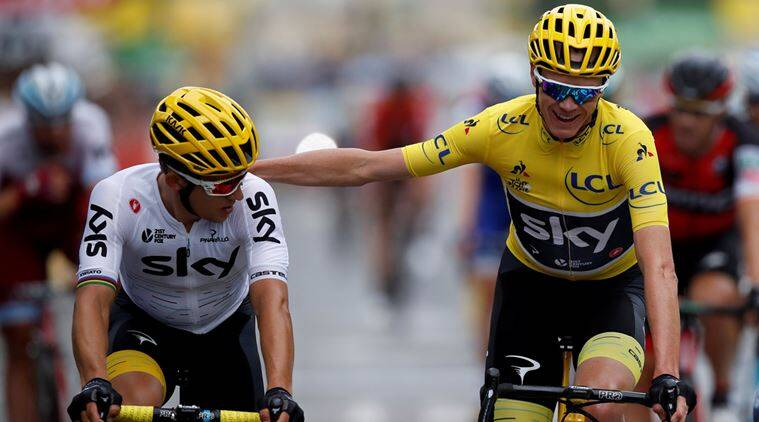 Chris Froome, Cycling, Indian Express
