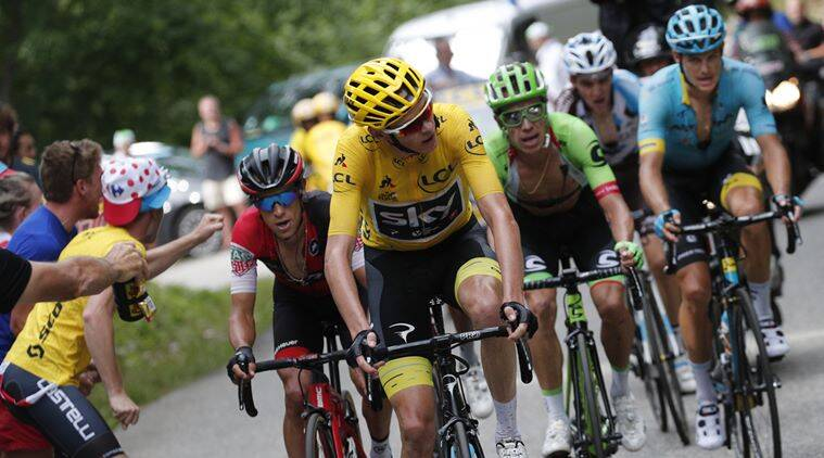 Chris Froome, Tour de France, Indian Express