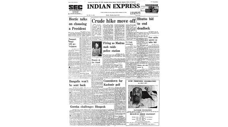 pakistan national alliance, pna talks, benazir bhutto, forty years ago, indian express