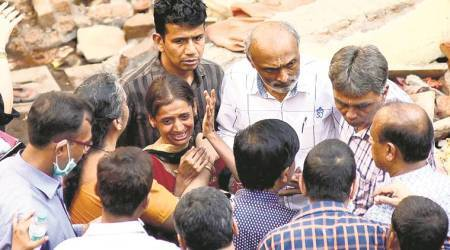 Ghatkopar building collapse: At least two feared trapped, two 'missing'