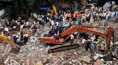 Mumbai: Residential building in Ghatkopar collapses, at least 8 killed