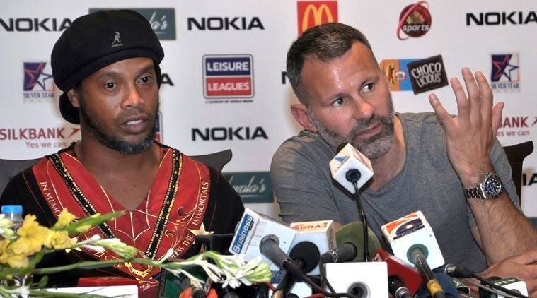 ryan giggs, manchester united, ronaldinho, pakistan, pakistan football, football, sports news, indian express