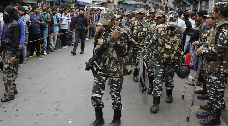 arjeeling violence, darjeeling, gorkha protest, gjm, gorkha agitation, crpf, ssb, west bengal news, home ministry, india news, indian express news