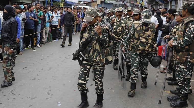 arjeeling violence, darjeeling, gorkha protest, gjm, gorkha agitation, crpf, ssb, west bengal news, home ministry, india news, indian express news