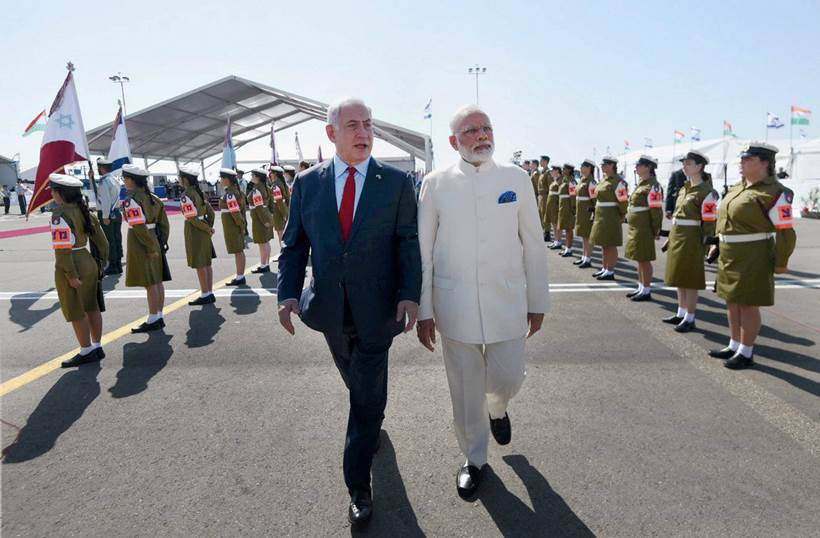 India and Israel sign seven crucial pacts, promise to fight terror together