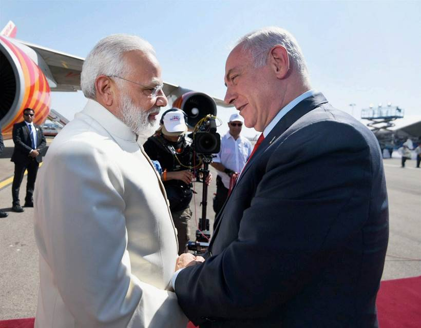 India and Israel pledge to combat terrorism