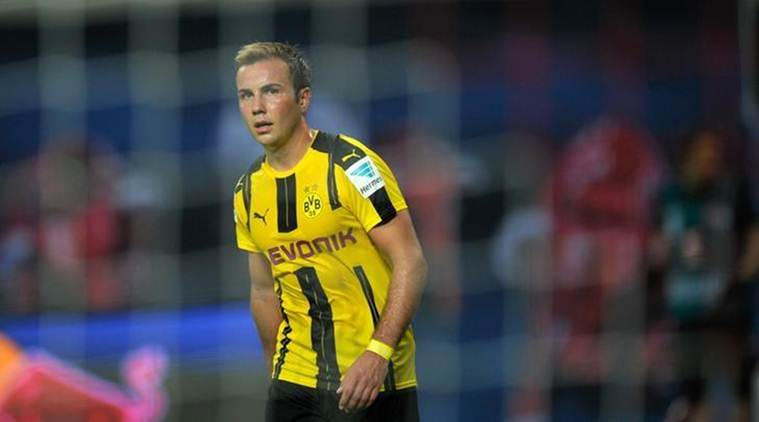 Mario Goetze, Bundesliga, Mario Goetze Germany, Borussia Dortmund, football news, sports news, indian express