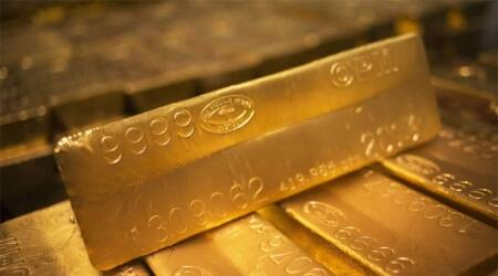 Gold price, Gold price india, rupee down, rupee rate, dollar rate, market news, indian express