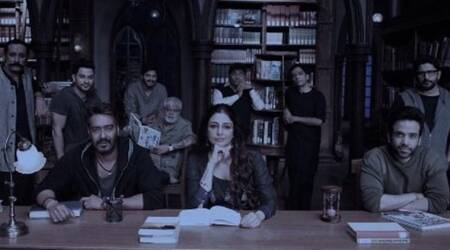 Tabu shares a picture from the sets of Ajay Devgn starrer-Golmaal Again, but where is Parineeti Chopra?