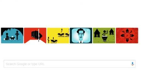 Google celebrates 106th birthday of Marshall McLuhan with a colourful doodle