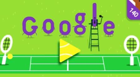Google celebrates 140 years of Wimbledon with traditional purple, green doodle