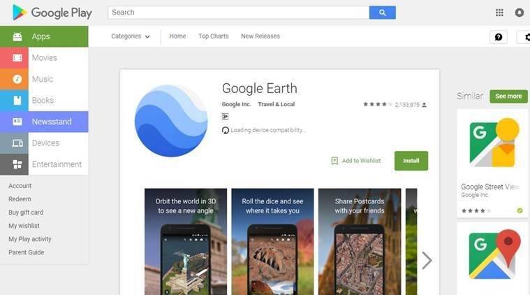 Google, Google Earth, Google Earth update, Alphabet, Alphabet Inc., Google parent company, Social media, Social media news, Indian Express