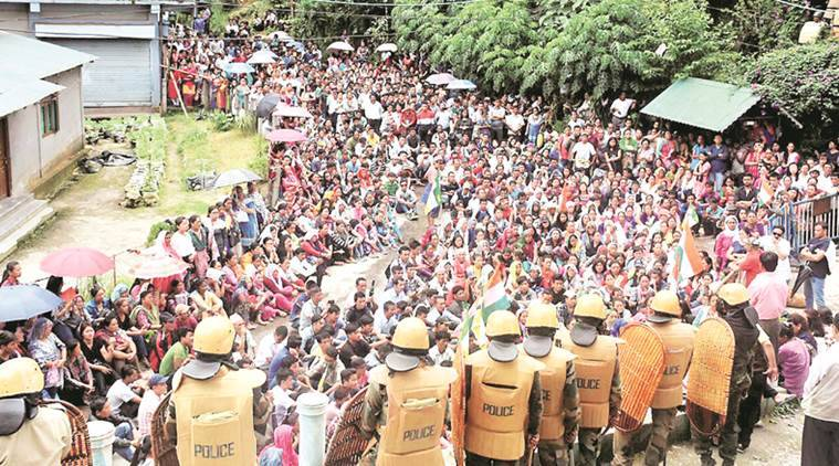 Gorkhaland agitation, Gorkhaland urest, Darjeeling Gorkha Hill Council, Gorkhaland demand, Bimal Gurung, Mamata Banerjee, Indian express, India news