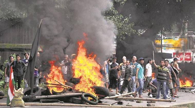 After weeks of peace, violence in Darjeeling again