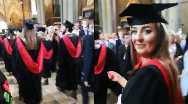 Oops! Dad films wrong girl on daughter's graduation day and