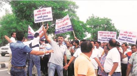 On eve of Arun Jaitley's visit to Ludhiana, city plywood traders observe day-long strike