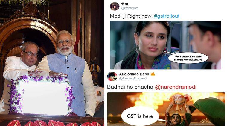 gst, goods and services tax, gst rollout, gst breakdowm, gst memes, gst jokes, narendra modi, pranab mukherjee, arun jaitley, gst items, india news, business news