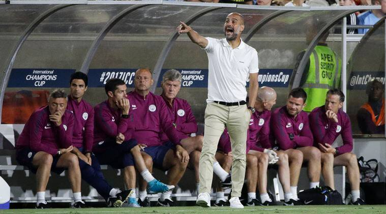 Image result for pep guardiola city pre season