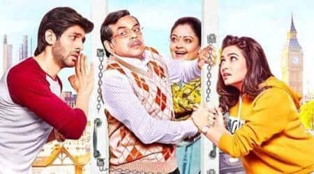 Guest Iin London movie review, Guest Iin London review, Guest Iin London, Guest Iin London movie, Kartik Aaryan, Paresh Rawal