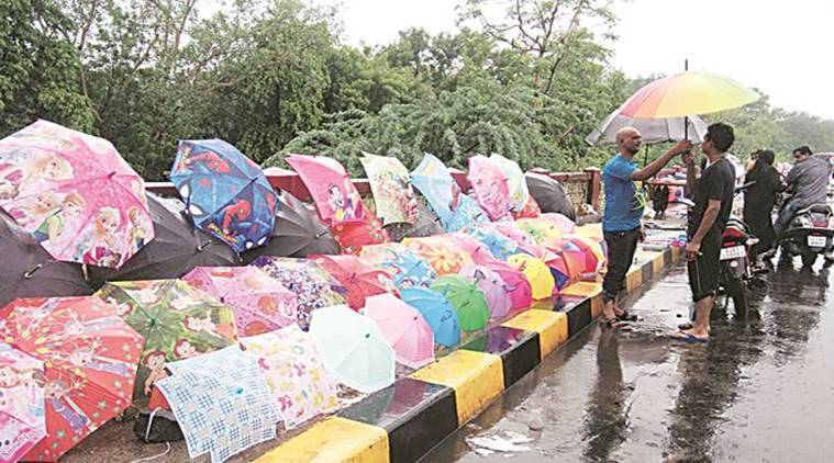 Gujarat Rain, Heavy Rainfall in Gujarat, Gujarat Weather forecast, Monsoons in Gujarat, Rail traffic hit in Gujarat, Monsoon News, Indian Express News