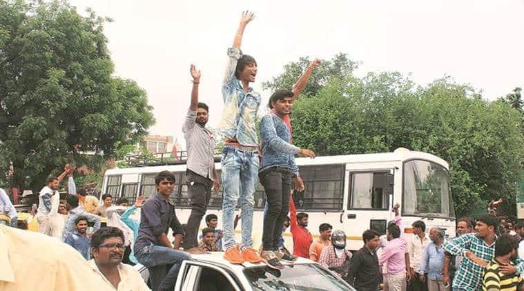 Indrasinh Zala murder, Gujarat caste violence, Morbi district violence, Morbi caste violence, Dhrangadhra Violence, Gujarat News, Indian Express News