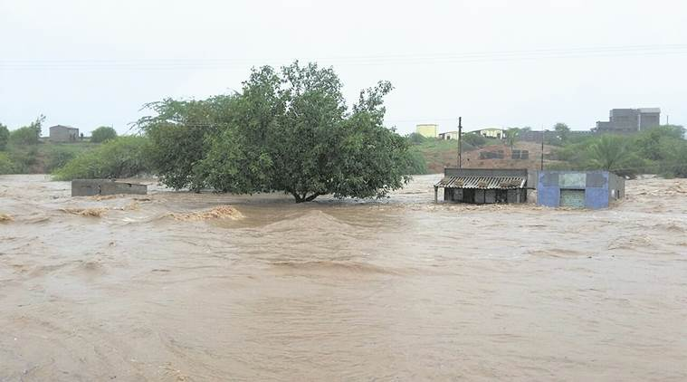 gujarat, gujarat flood, gujarat flood toll, death toll, flood relief, gujarat flood relief, indian express news, india news