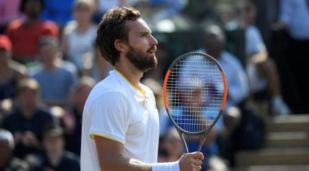 Wimbledon 2017: Ernests Gulbis rips up script with victory over Juan Martin DelPotro