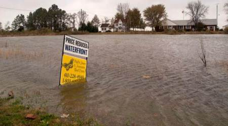 Rising sea levels to flood major US cities, says study