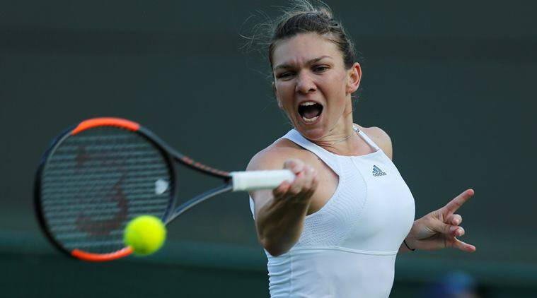 Simona Halep, halep, wimbledon 2017, wimbledon, french open, Jelena Ostapenko, tennis, sports news, indian express