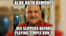 alok nath, alok nath memes, alok nath birthday, alok nath babuji birthday, alok nath funniest memes, alok nath memes on facebook, alok nath funniest internet memes, indian express, indian express trending, viral indian express