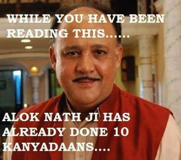 On Alok Nath's birthday, our favourite sanskaari memes on Baauji