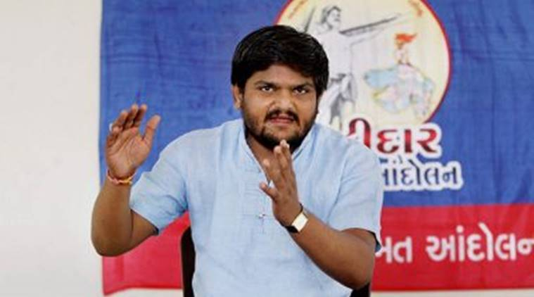 Hardik Patel, Hardik Patel detained, Hardik Patel arrest, patidar leader, patidar quota, indian express