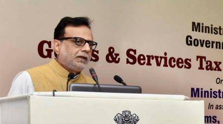 GST in 'smooth phase', return simplification high on agenda, says finance secretary Hasmukh Adhia