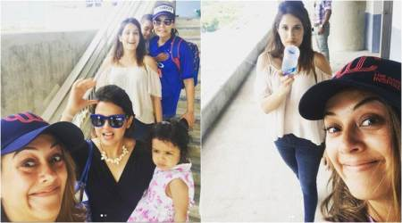 Sagarika Ghatge, Hazel Keech fly to Jamaica to support their cricket heroes and better halves, end up being BFFs. See photos