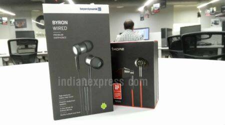 1More, Beyerdynamic, 1More 1M301 review, Beyerdynamic Byron Wired review, 1More 1M301 price in India