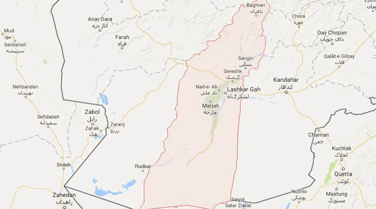 USA friendly fire kills at least eight Afghan policemen in Helmand