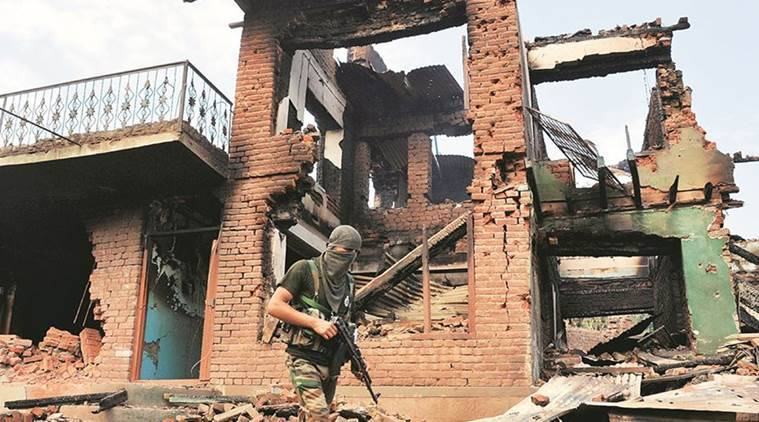 Kashmir, Kashmir militant, Kashmir IPS officer, IPS officer's brother, Hizbul Mujahideen recruits, Burhan anniversary, kashmir, indian express news