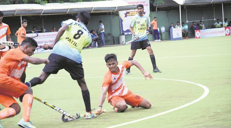 late hussain all india hockey tournament 2017, pcmc 11, all india hockey semi finals, bombay engineers group, central railway hockey team, pune division hockey team, major dhyanchand hockey stadium, indian express