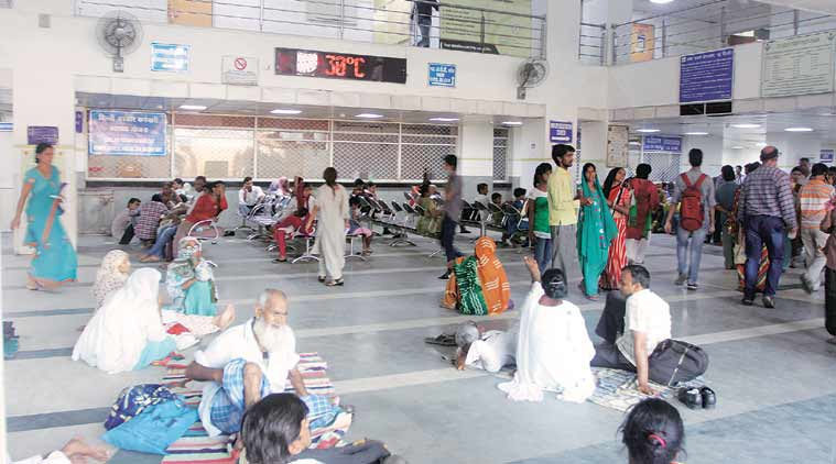 Gangajal, BJP MP, Delhi Hospital Premises, Virendra Kumar, India News, Indian Express, Indian Express News
