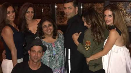 Hrithik Roshan, Sussanne Khan join Karan Johar's New York party post IIFA 2017