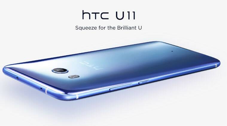HTC U 11, HTC U 11 Sapphire Blue, HTC U 11 price in India, HTC U 11 review,