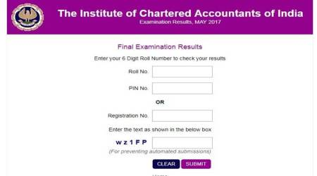ICAI CA final and CPT result 2017 declared, check merit list at icaiexam.icai.org, caresults.icai.org