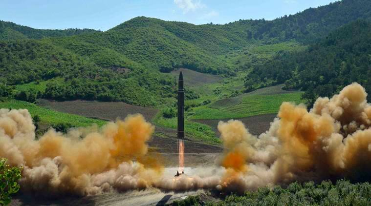 north korea, south korea, icbm launch, intercontinental ballistic missile, north korea missile launch, north korea airstrikes, THAAD, missile, Kim jong un