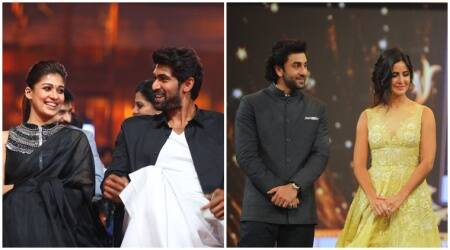 SIIMA 2017 Day 2: Mohanlal, Sivakarthikeyan, Nayanthara win as Ranbir-Katrina turn Lungi Machas. See photos, videos