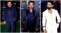 iifa fashion, iifa 2017, iifa men fashion, iifa 2017 men fashion style, iifa 2017 salman khan, saif ali khan, shahid kapoor, sushant singh rajput, varun dhawan, men fashion at iifa, indian express, indian express news